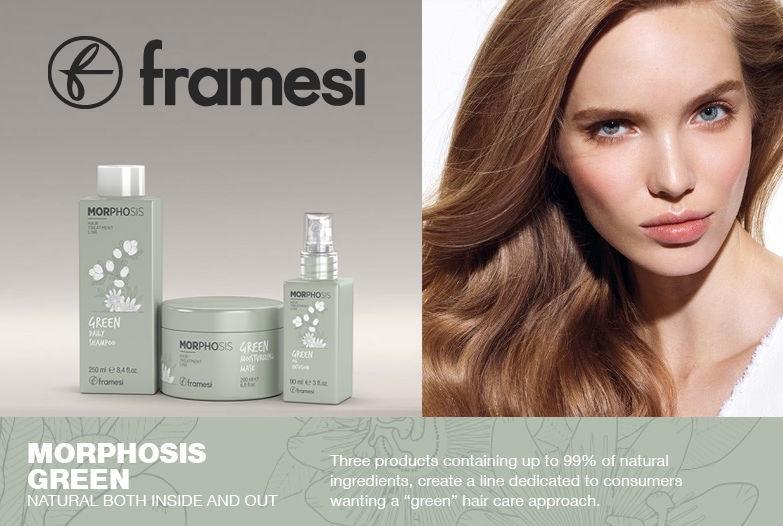Framesi Morphosis Green Moisturizing Mask 200ml