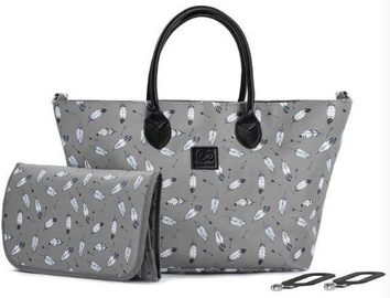 Soma KinderKraft Shopper Bag Mommy Grey