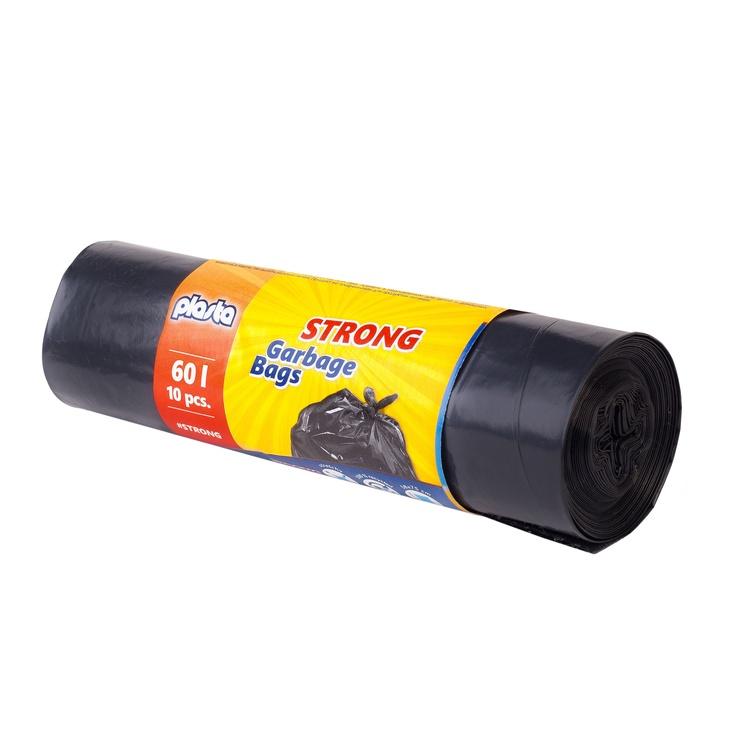 Мешки для мусора Plasta 8300900, 60 л, 10 шт.