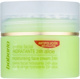 Sejas krēms Babaria Aloe Vera Moisturising Face Cream 24h, 50 ml