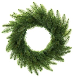 DecoKing Lux Christmas Wreath 50cm Green