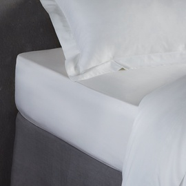 Простыня Domoletti White, 140x220 см