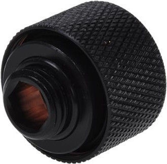 Alphacool HardTube Compression Fitting 16mm To G1/4 Black Pack Of 6