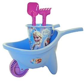Smilšu kastes rotaļlietu komplekts Adriatic Frozen, violeta/gaiši zila, 4 gab.