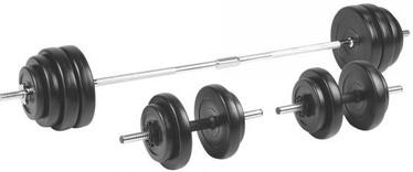 inSPORTline Loading Barbell & Dumbbell Set BS208 3-50kg
