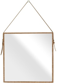 Зеркало Homede Tozal, подвесной, 50x50 см
