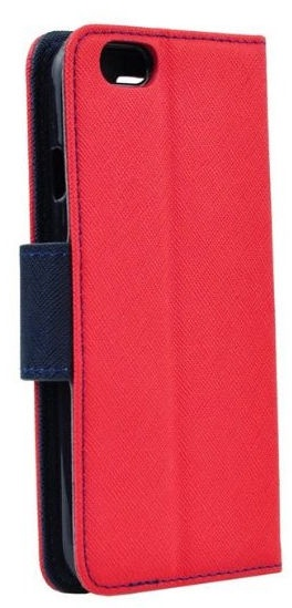 Mocco Fancy Book Case For Samsung Galaxy A8 Plus A730 Red/Blue