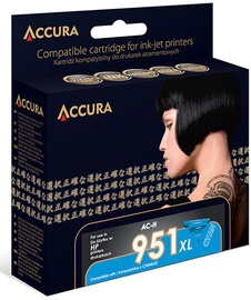 Accura Ink Cartridge HP 24ml Cyan
