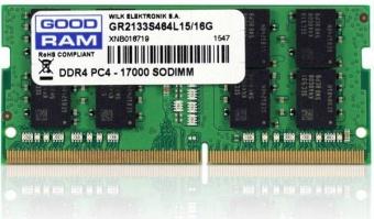 Operatīvā atmiņa (RAM) Goodram GR2666S464L19/32G DDR4 32 GB CL19 2666 MHz