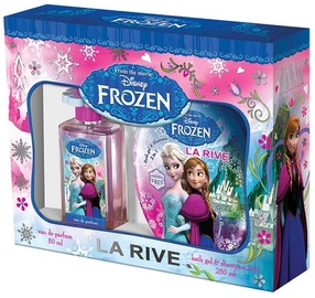La Rive Disney Frozen 50ml EDP + 250ml Bath Gel & Shampoo 2 in 1