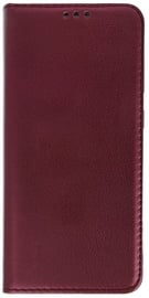 Mocco Smart Magnet Book Case For Samsung Galaxy A72 5G Burgundy
