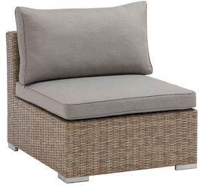 Dārza krēsls Masterjero, brūna/pelēka, 65 cm x 84 cm x 72 cm