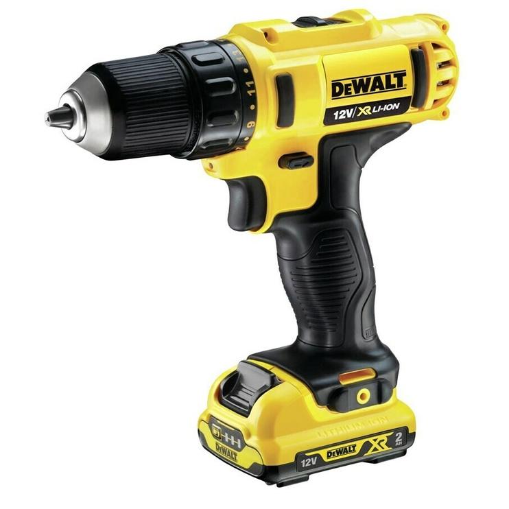 Akumulatora skrūvgriezējs - urbis Dewalt DCD710D2-QW