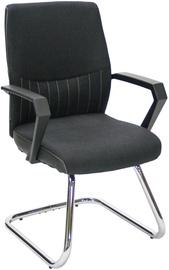 Apmeklētāju krēsls Home4you Angelo Black 27943