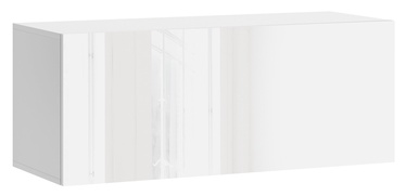 Vivaldi Meble Vivo 01 Wall Shelf White/White Gloss