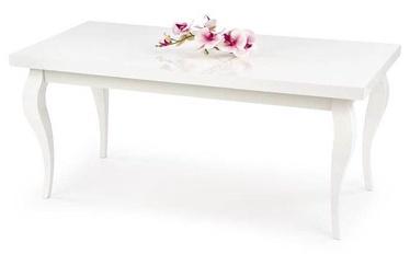 Kafijas galdiņš Halmar Mozarta, balta, 1200x600x530 mm