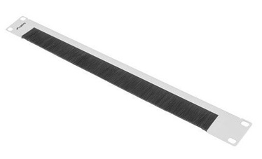 Lanberg AK-1103 Brush Panel 19'' 1U Grey