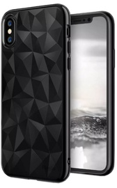 Blun 3D Prism Shape Back Case For Xiaomi Redmi Note 5A Black