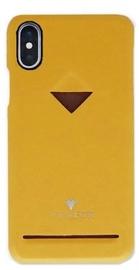 Vix&Fox Card Slot Back Shell For Huawei P20 Yellow