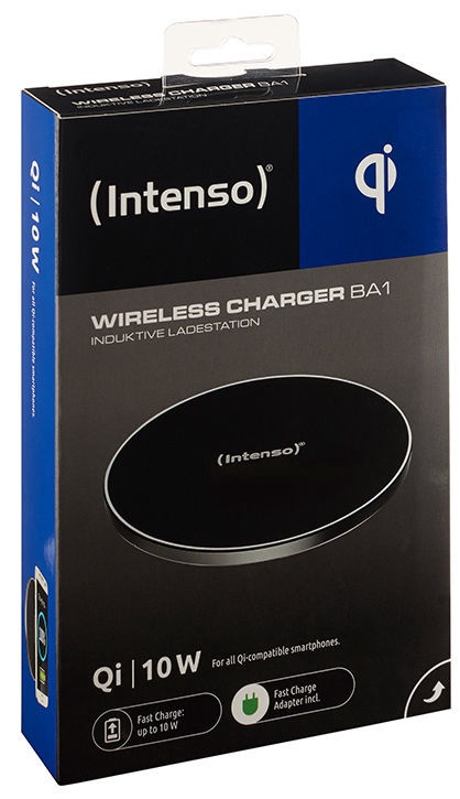 Intenso BA1 Wireless Charger Black