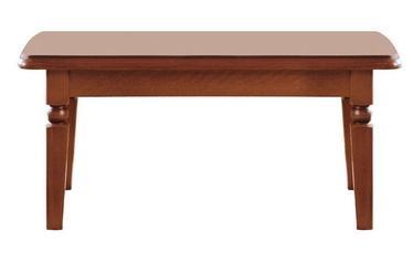 Kafijas galdiņš Black Red White Bawaria Walnut, 1200x680x540 mm