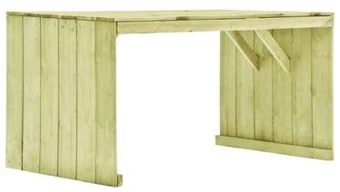 Dārza galds 49034, brūna