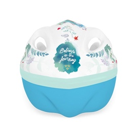 Шлем Disney Frozen II 9055, синий/белый, 52-56 см