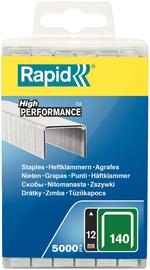 Rapid Flatwire 140/12mm Green Staples 5000pcs