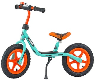 Velosipēds Milly Mally Dusty 12'' Balance Bike Pistachio Orange 3302