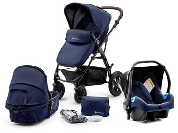 Коляска KinderKraft Moov 3in1 Navy