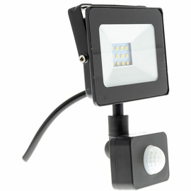 Prožektors Retlux RSL 246 LED, 10 W, 800 lm, 4000 °K, IP65, melna