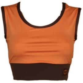Bars Womens Top Brown/Orange 113 M