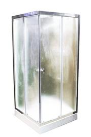 Dušas kabīne Besk BA-KMS, pusapaļā, 900x900x1950 mm