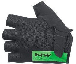 Northwave Blade Short Gloves Black/Green L