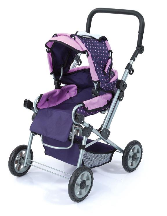 Bayer Trendsetter Doll Pram Purple/Pink 19175