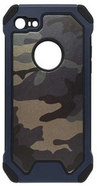 Mocco Panzer Back Case For Apple iPhone X Army