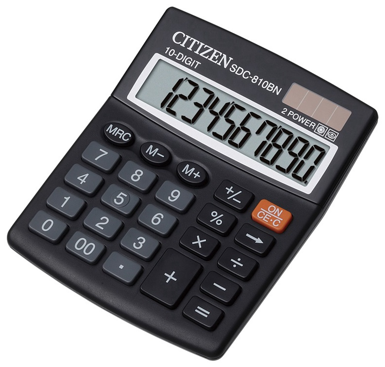 Citizen Office Calculator SDC-810BN