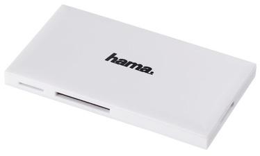 Hama Multi Card Reader USB 3.0 To SD/microSD/CF/MS White