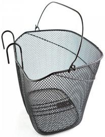 Front Basket With Hooks & Handle Black