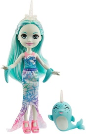 Кукла Mattel Enchantimals Naddie Narwhal & Sword GJX41