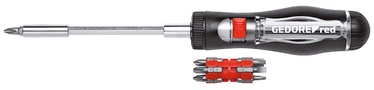 Gedore Red Magazine Ratchet Screwdriver 13in1 3301337