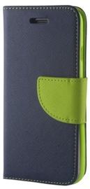 Mocco Smart Fancy Book Case For Samsung HTC U11 Blue/Green