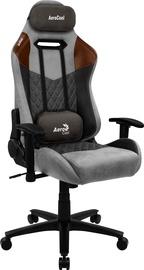 Spēļu krēsls AeroCool Duke, brūna/melna/pelēka
