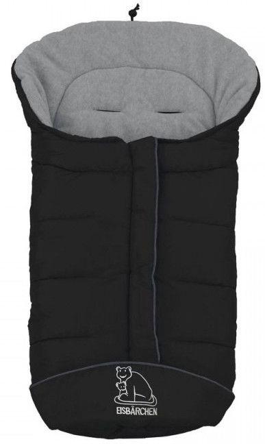 Детский спальный мешок Heitmann Felle Winter Cosy Toes 7965 GS Black/Grey, 98 см