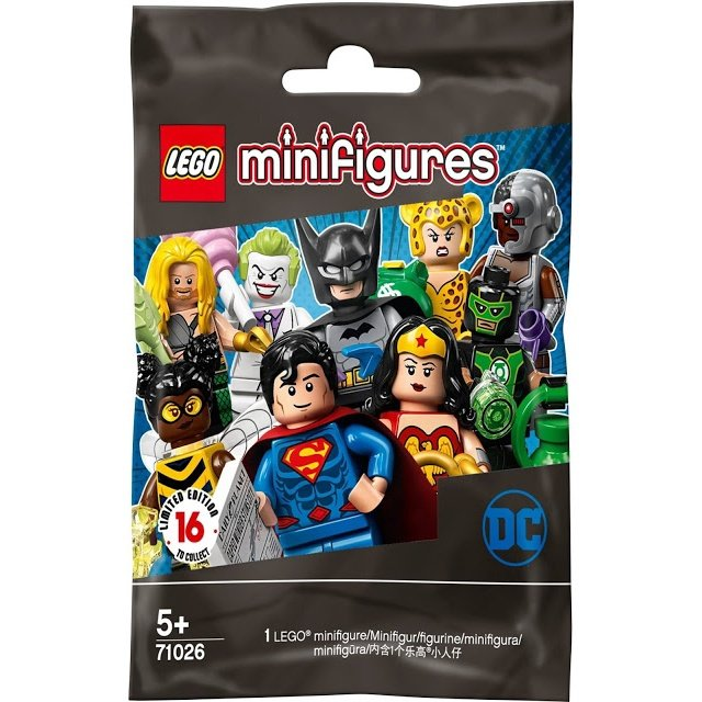 LEGO Heroes Minifigures 71026