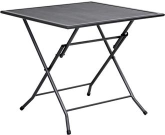 Dārza galds VLX Folding Table 310151, melna