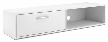 TV galds Vivaldi Meble Simple 140 White/White, 1400x382x291 mm