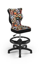 Bērnu krēsls Entelo Petit ST28, melna/daudzkrāsains, 350 mm x 950 mm