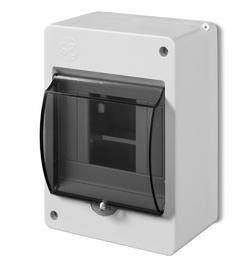 Panelis Elektroplast 2304-01, 95 mm, IP30, 4 mod