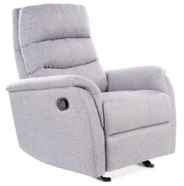 Atzveltnes krēsls Signal Meble Jowisz, pelēka, 78 cm x 98 cm x 102 cm